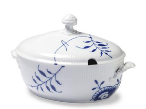 RC Blue Fluted MEGA Tureen w. Cover #2381181