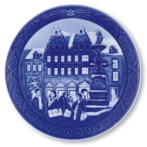2009 RC Christmas Plate - Christmas at Amagertorv
