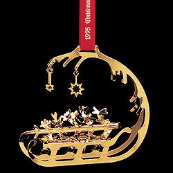 GJ 3410195 Christmas Ornament 1995, Sleigh
