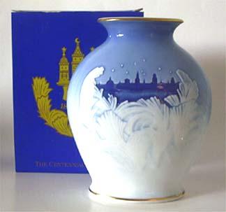 B&G 1895-1995 Centennial Vase 9 in.