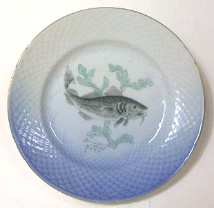 B&G Seagull #303906 Fish Plate (Torsk) 8 1/2 in.