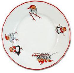 Porsgrund Nisse Dinner Plate 10 in