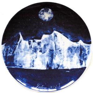 2013 Porsgrund Christmas Plate