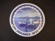 1932 B&G Swans Swimming