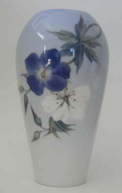 RC Art Nouveau Style Vase, Butterfly