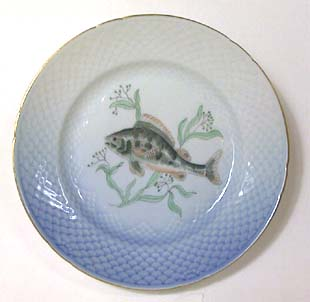 B&G Seagull #303909 Fish Plate (Aborre) 8 1/2 in.
