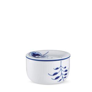 RC Blue Fluted MEGA Storage Jar, Small #1016885