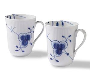 RC Blue Fluted MEGA Mug - Set of 2 #1017333