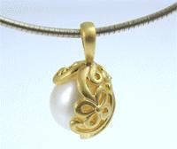 Josefine | Lady Pearl Necklace, White