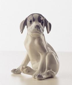 RC 1020206 Pointer Puppy, Sitting