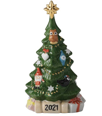 Royal Copenhagen Annual Christmas Tree Figurine 2021