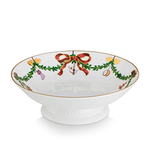 RC #1016967 Star Fluted Footed Compote Bowl, 7 in.