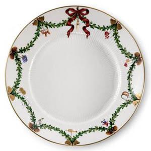 RC #1017455 Star Fluted Salad/Dessert Plate