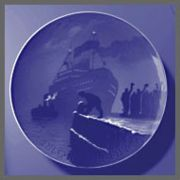 1917 B&G Christmas Boat