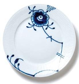 RC Blue Fluted MEGA Dinner Plate #1017373