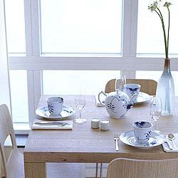 RC Blue Fluted MEGA Tea Set (3)