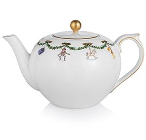 RC #1016965 Star Fluted Tea Pot, 48 oz.