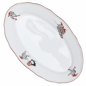 Porsgrund Nisse Oval Platter Small 8 1/5 in