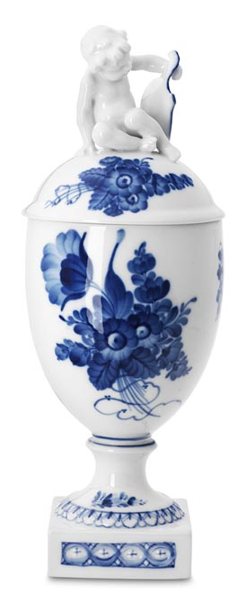 RC #1106280 Vase w/Figurine 11 1/4 in.