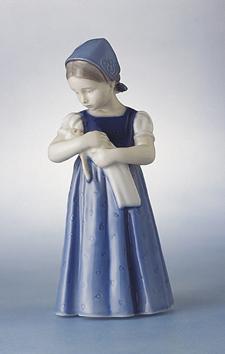 RC 1023561 Mary, Blue Dress