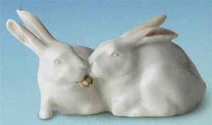 RC 1020065 Rabbits, White