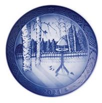 Royal Copenhagen Christmas Plates 1908-2021