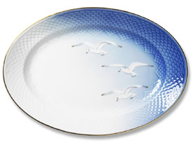 B&G Seagull #303374 Serving Tray 13 in.