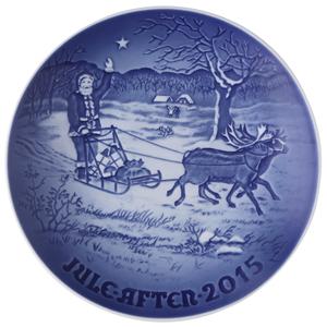 2015 B&G Christmas Plate