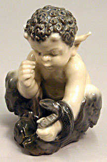 RC 1712 Faun with Snake