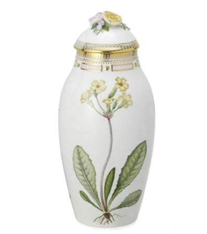 RC #2141741 Vase with Lid, Spring 13 1/2 in.