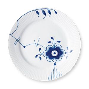 RC Blue Fluted MEGA Salad/Desert #6 Plate #1017371