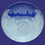 1915 B&G Behind Frozen Window