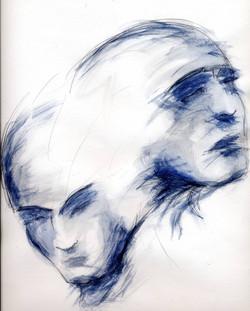 double visage bleu003