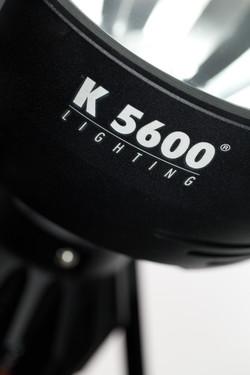 Pour K5600 lighting