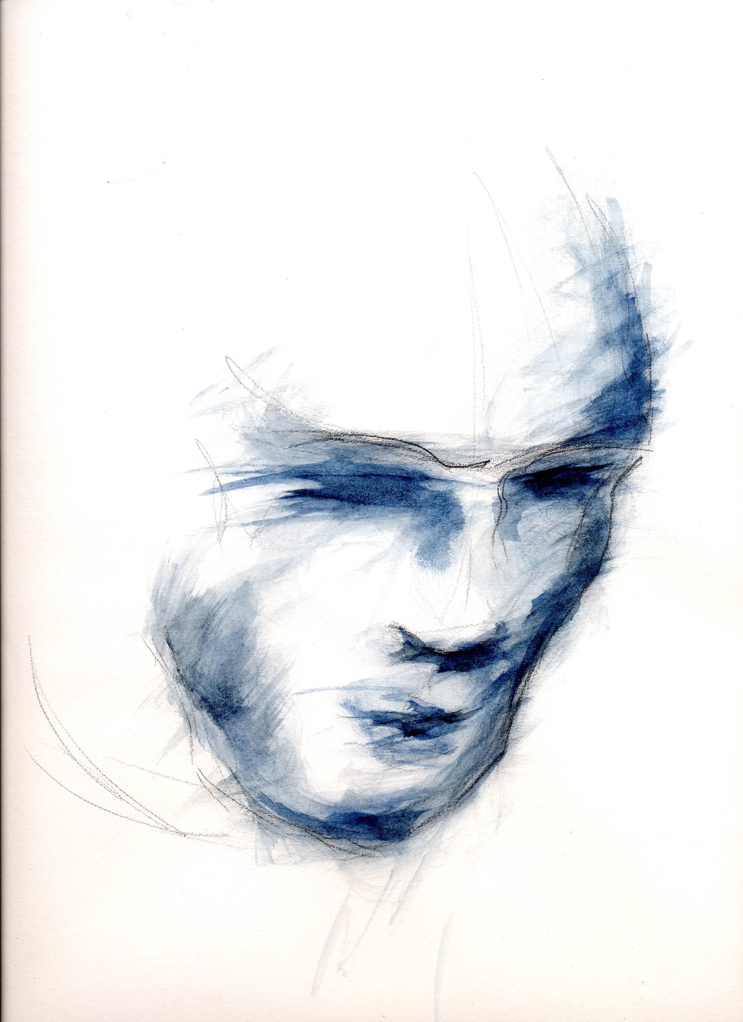 visage bleu001