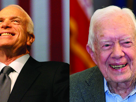 BOTH JOHN MCCAIN & JIMMY CARTER HAD BRAIN TUMORS. WHY DID THEIR TREATMENTS HAVE SUCH DIFFERENT O