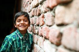 Little Boy Standing Portrait