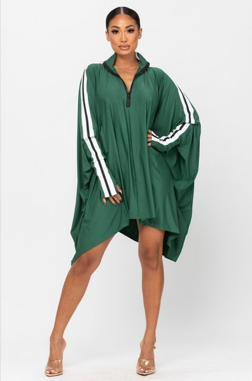 Emerald Track Dress
