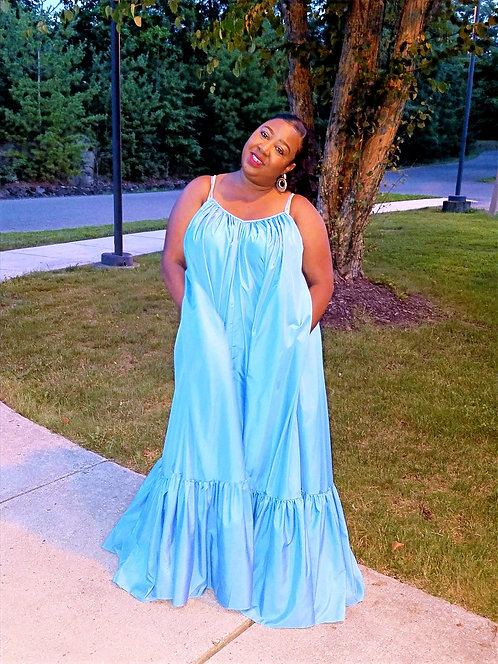 Sydney Dress Light Blue