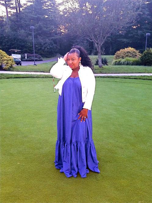 Sydney Dress Spicy Blue