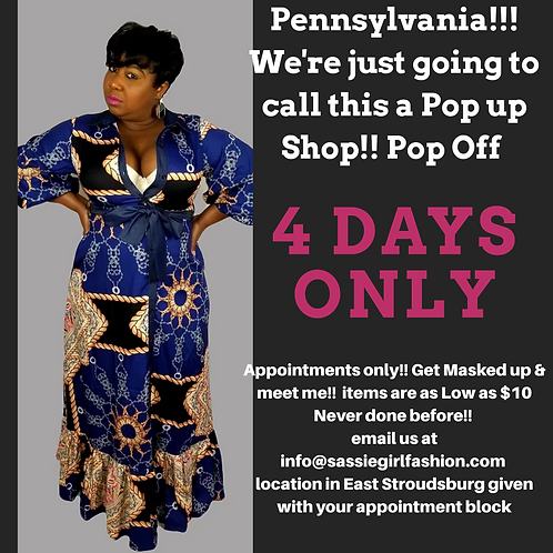 Book Appointment/Personal Shopping/secure appt