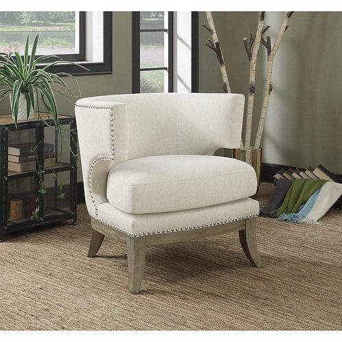 """""""GUADALUPE"""" ACCENT CHAIR IN CHENILLE FABRIC"""