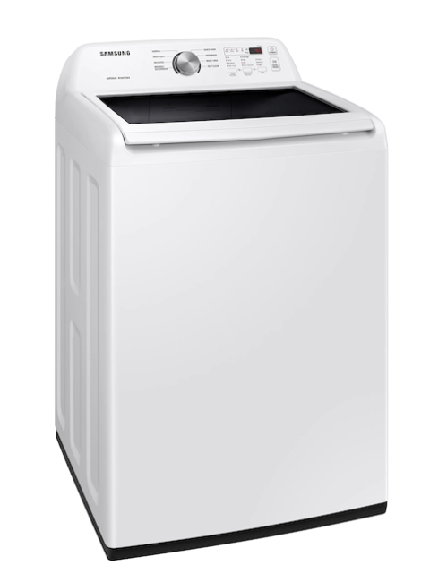 SAMSUNG 4.5 CU FT TOP LOAD WASHER IN WHITE