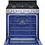 Thumbnail: LG 5.8 CU FT SMART  WI-FI CONVECTION GAS RANGE