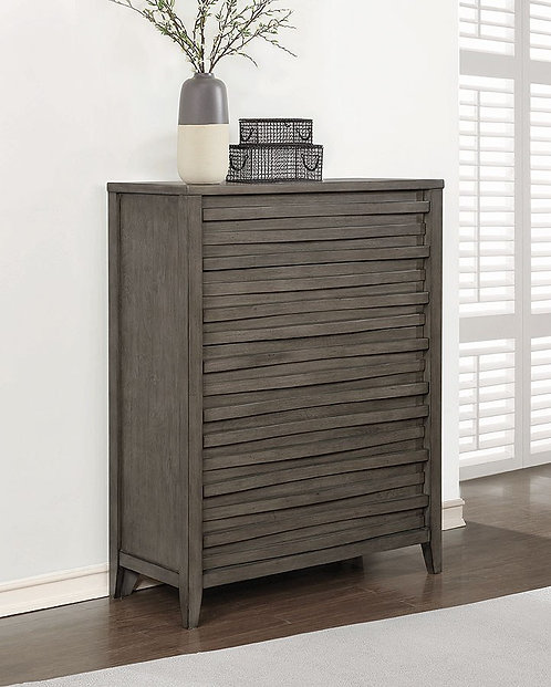 """""""OPAL"""" CHEST  IN DARK TAUPE"""