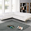 """Thumbnail: """"DORRIS"""" 2-PCS SECTIONAL IN PURE WHITE LEATHER"""