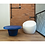 """Thumbnail: """"CONA"""" ROUND TABLE IN WHITE OR BLUE"""