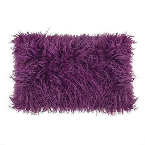 FAUX WOOL DECORATING PILLOW