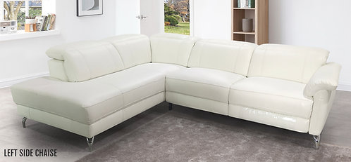 """""""MATHIAS"""" POWER RECLINER SECTIONAL IN LEATHER"""