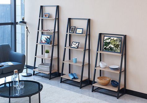 """""""FRANK"""" DISPLAY RACK IN MULTIPLE SIZES IN BLACK AND NATURAL"""